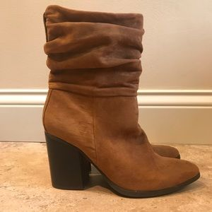 Apt 9 Taupe Faux Suede Boots